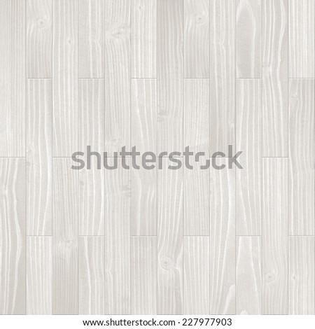 Seamless light grey parquet background. - stock photo