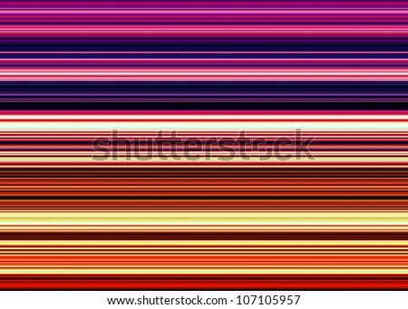 Seamless line pattern - stock photo