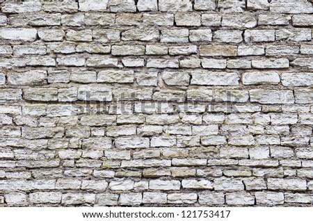 Seamless medieval old stone masonry texture. - stock photo