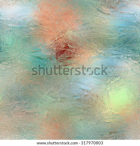 Seamless  multicolor glass or ice pattern   - stock photo