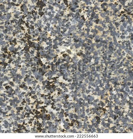 Seamless natural pattern of raw stone surface - stock photo