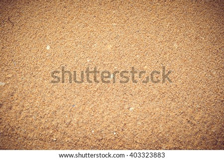 Seamless natural sand background texture - stock photo