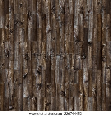 Seamless old parquet background. - stock photo