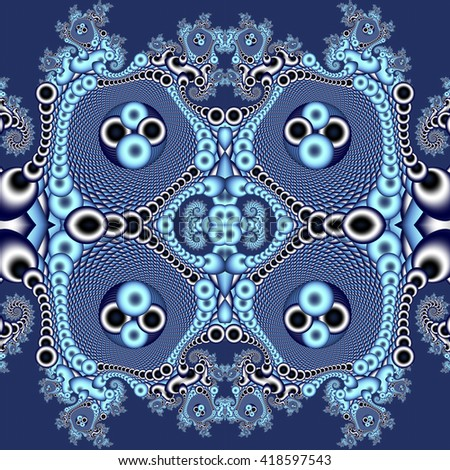 Seamless openwork pattern. You can use it for invitations, notebook covers, phone case, postcards, cards and so on. Artwork for creative design, art and entertainment. - stock photo