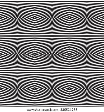 seamless optical art pattern  background jpeg version - stock photo
