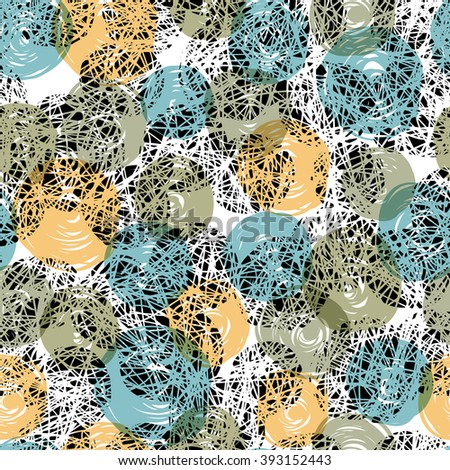 Seamless pattern Abstract. Raster version - stock photo