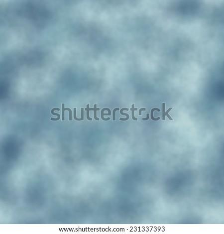 Seamless pattern of blue - white cloud effect - stock photo