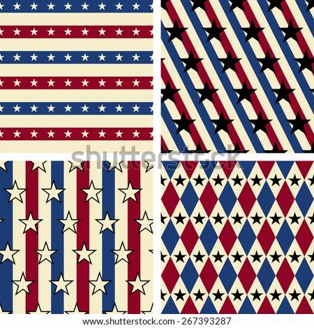 Seamless pattern. Raster version - stock photo