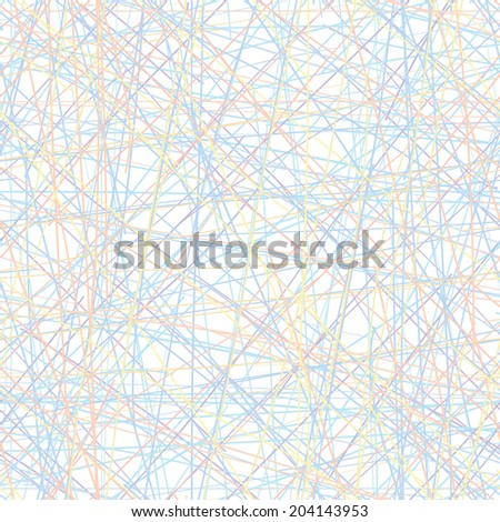 Seamless pattern - set of intersecting color lines. simple texture - stock photo
