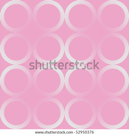 Seamless pattern with circles - stock photo