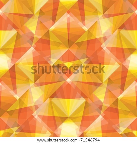 Seamless pattern with hot color tiles - stock photo
