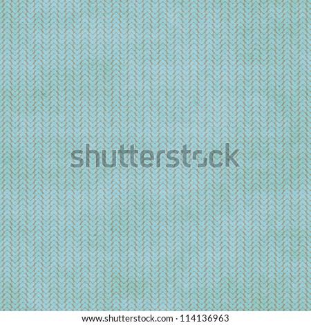 Seamless plain knitted pattern. - stock photo