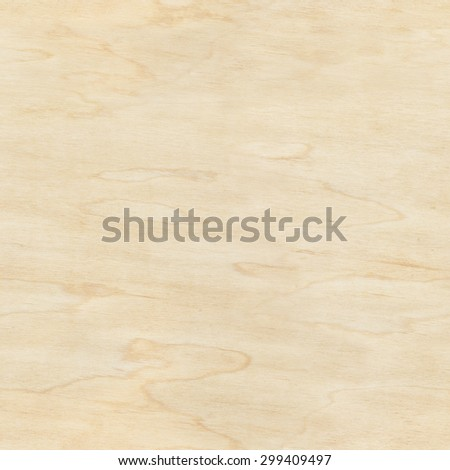 Seamless plywood texture, wooden background, pattern - stock photo