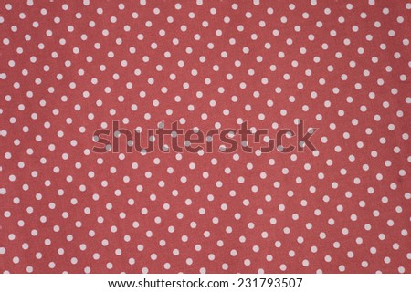 Seamless polka dots fabric for background - stock photo