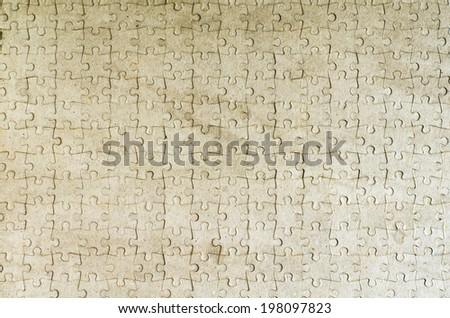 Seamless puzzle texture - stock photo