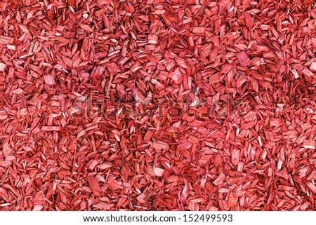 seamless red wood chip background - stock photo