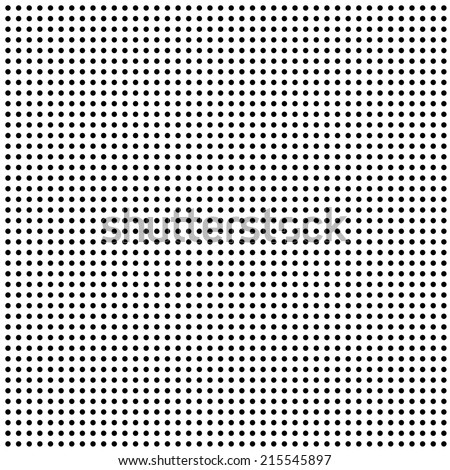 seamless repeating dot pattern as background - stock photo