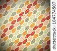 Seamless retro sweet theme ; raster colorful. - stock photo
