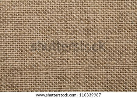 Seamless sackcloth - stock photo