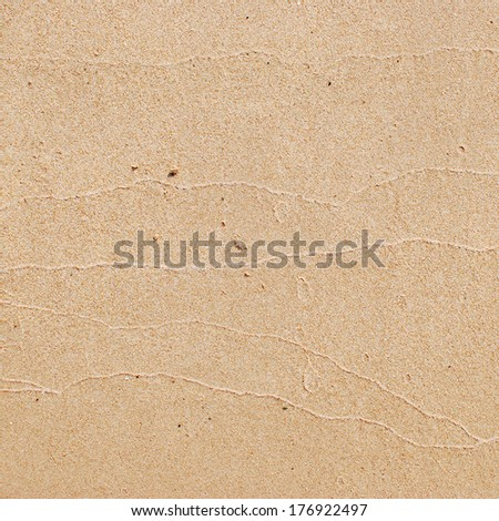 Seamless sand beach background  - stock photo