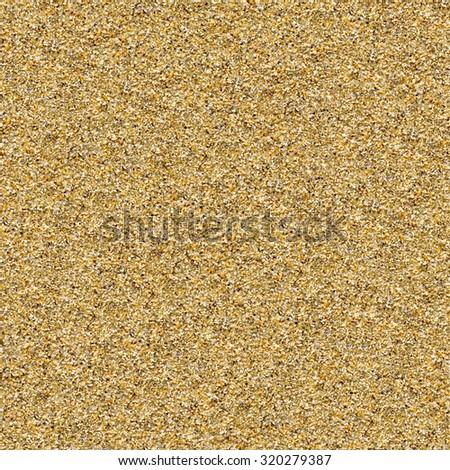 Seamless sea-sand background. - stock photo
