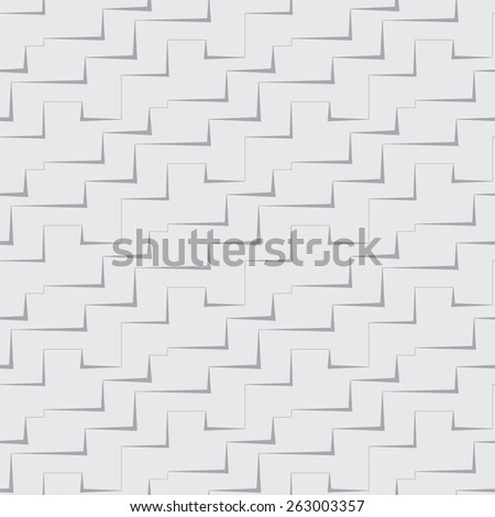 seamless square abstract gray background with a pattern - stock photo
