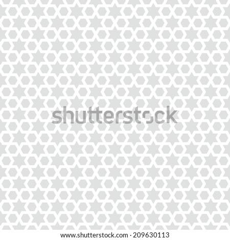 Seamless star background pattern illustration - stock photo