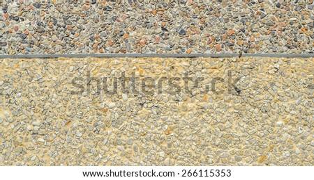 Seamless Stone Pebble Texture Pattern floor - stock photo