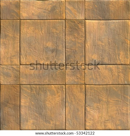 seamless stone tiles - stock photo