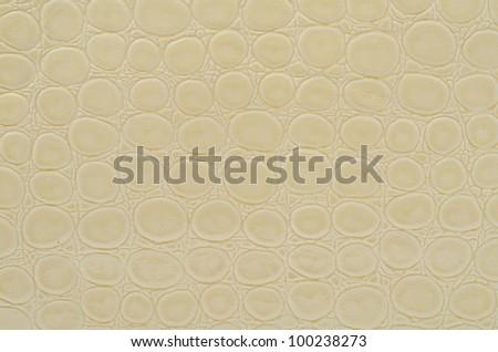Seamless texture background white snake skin - stock photo