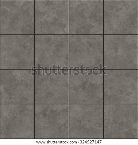 Seamless texture of gray tiles. Pattern background. - stock photo