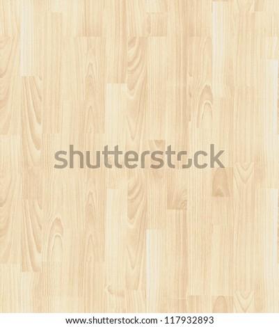 seamless texture of light  parquet - stock photo