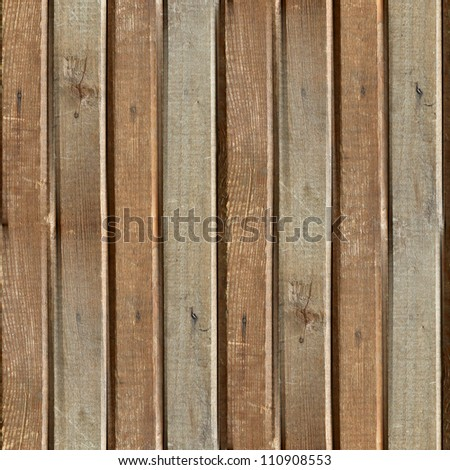 seamless texture of old wood boards background - stock photo