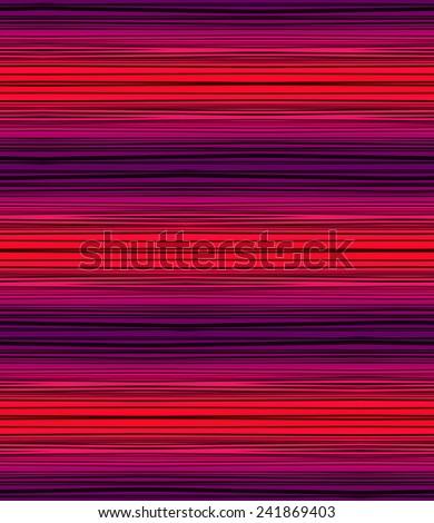 seamless thin stripes. melange effect. - stock photo