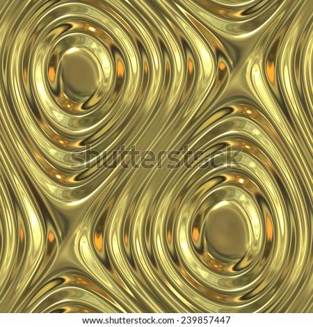 seamless tileable decorative background pattern - stock photo
