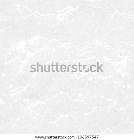 Seamless tileable light grey marble background - stock photo