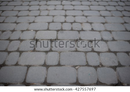 Seamless Tileable Texture of Paving Slabs - stock photo