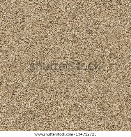 Seamless Tileable Texture of Surface Covered with Small Stones. - stock photo