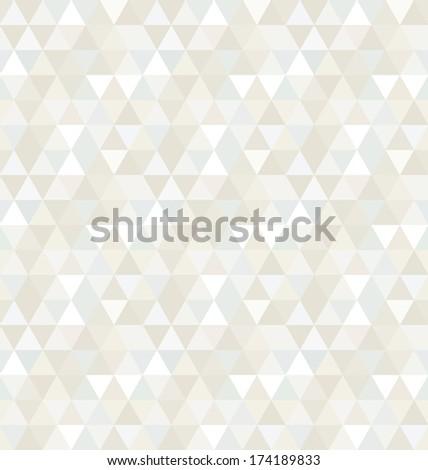 Seamless Triangle Pattern, Background, Texture Illustration - stock photo