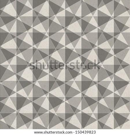 Seamless vintage pattern  - stock photo