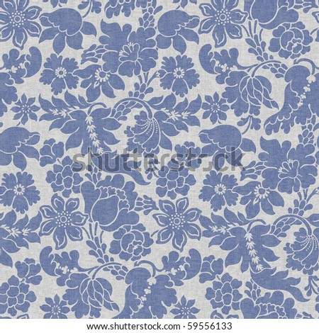 Seamless wallpaper background - stock photo