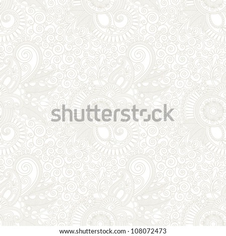 Seamless wallpaper background . Raster version - stock photo