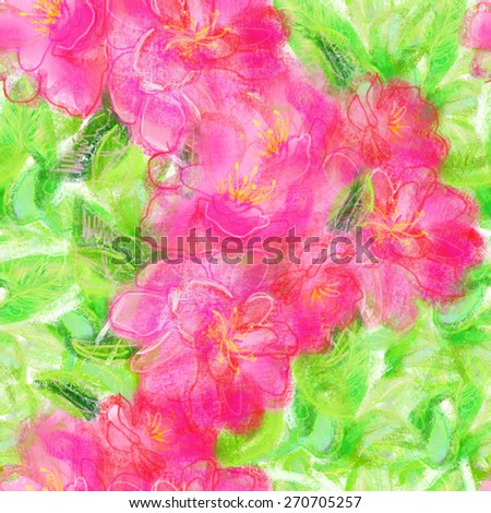 Seamless watercolor paintings. Abstract watercolor hand painted backgrounds - stock photo
