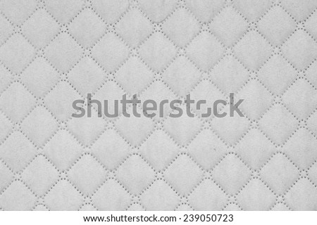 Seamless white background of square shape, texture - stock photo