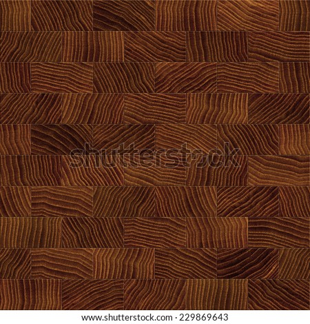 Seamless wood board background. - stock photo