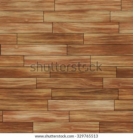 Seamless wood texture dark brown. - stock photo