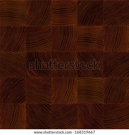 Seamless wooden board closeup texture background. - stock photo