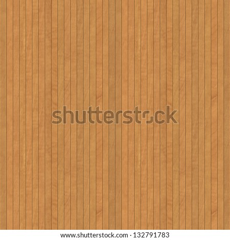 Seamless Wooden Panel Texture - stock photo