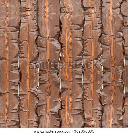 Seamless wooden vintage background, Old wood texture. Seamless pattern. - stock photo