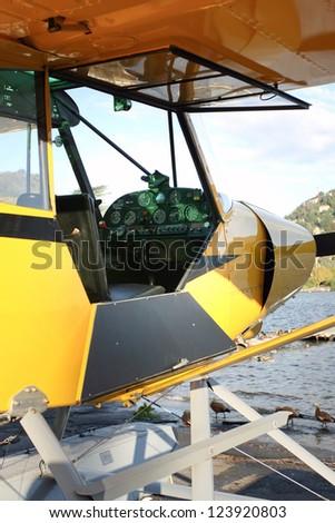 Seaplane - stock photo